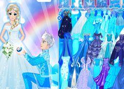 JuegosElsa.com - Juego: Frozen Wedding - Minijuegos de la Princesa Elsa Frozen Disney Jugar Gratis Online