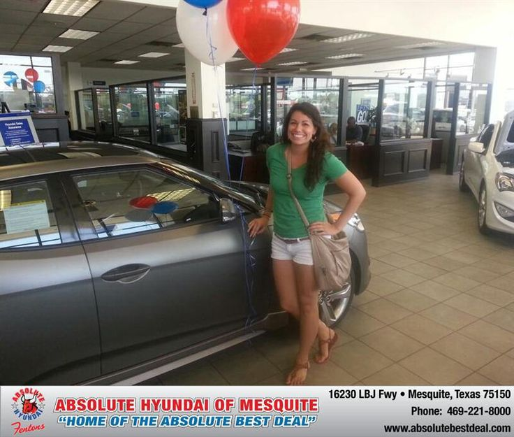 Congratulations to Antonia Genera on your #Hyundai #Veloster purchase from Troy Cox at Absolute Hyundai! #NewCar