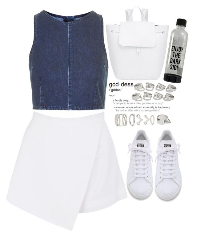 """""""."""" by bangtanfuck ❤ liked on Polyvore featuring BeginAgain Toys, Mansur Gavriel, Topshop, adidas, Forever 21 and ASOS"""