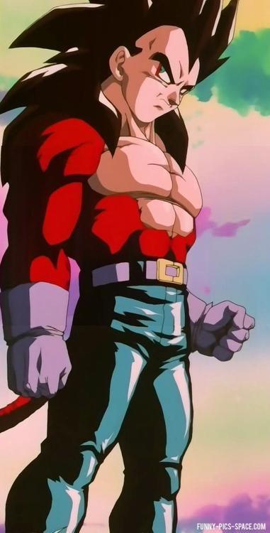 Vegeta Super Saiyan 4: Dragon Ball Z Collection Pictures