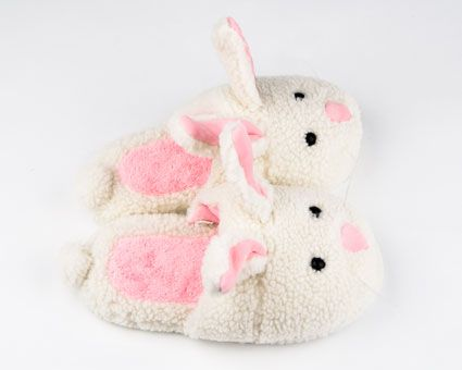 bunny slipppers | Comfy Cozy Classic Bunny Slippers Plus Giveaway