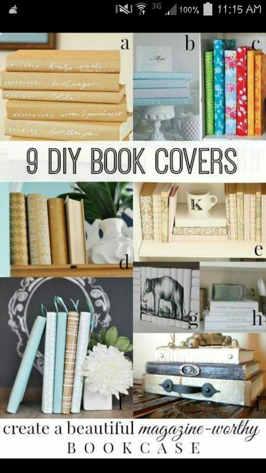 Cookbook Covers Diy ~ Diy book covers doo dads pinterest