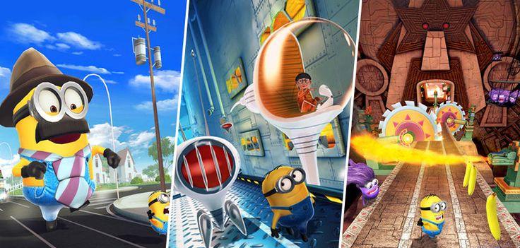 """Você é fã dos Minions? Uma das melhores cenas do filme """"Meu Malvado Favorito"""" virou game para mobile, o Minion Rush. No jogo, os Minions trabalhadores competem para levar o prêmio de melhor funcionário do ano. Você vai ajudá-lo? www.nagem.com.br  Para iOs: http://scup.it/3g89 Para Android: http://scup.it/3g8a"""