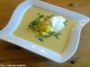 Kartoffel-Knoblauch-Creme-Suppe - Rezept - kochbar.de