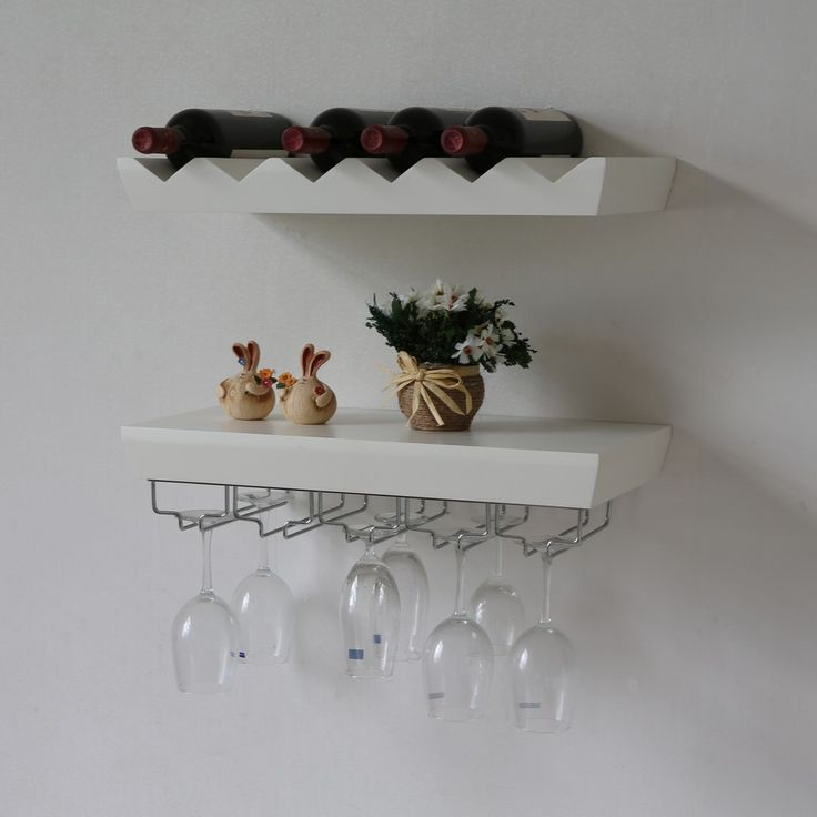 Amazing Wall Mounted Wine Glass Rack For The Home
