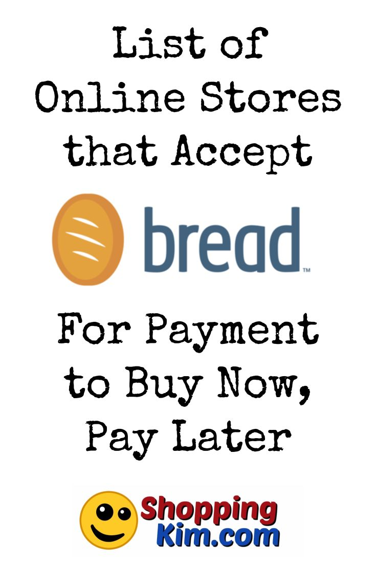 Online Stores That Accept Bread For Payment