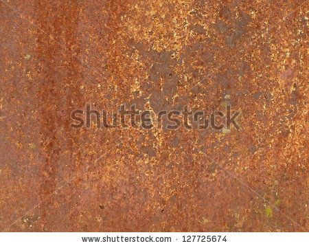 #Rusty #metal #panel #photograph
