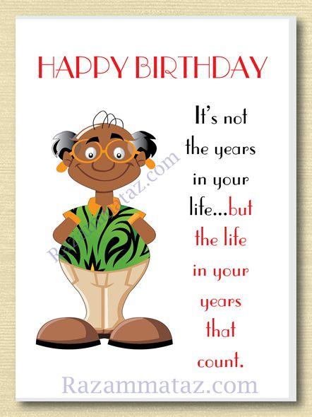 African American Male Birthday Card B