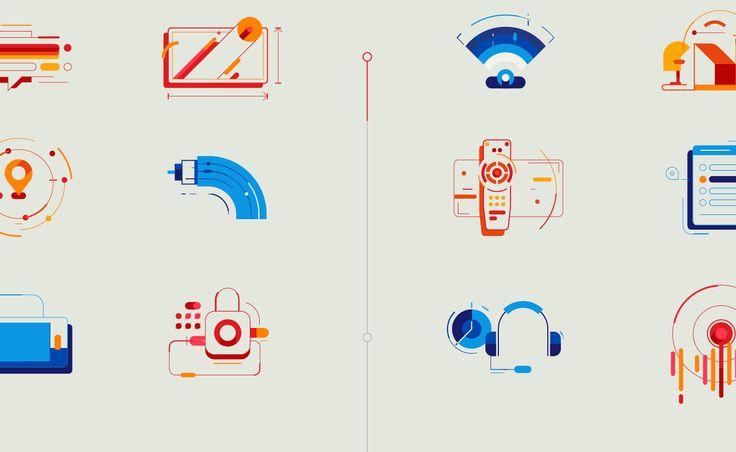 Cablevisión Fibertel Digital Rebranding on Behance