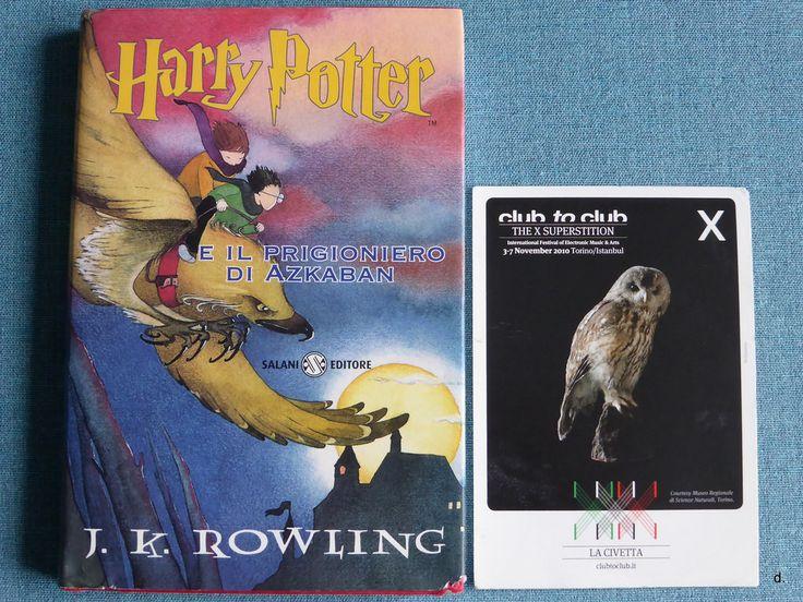J.K. Rowling - Harry Potter e il prigioniero di Azkaban #bookandpostcard