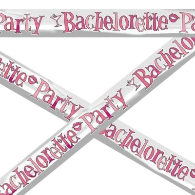 Banner Bachelorette Party (3.5m) Foil.   -$6.95  The perfect decoration for the Hens or Bachelorette Party! See more at http://www.myhensparty.com.au