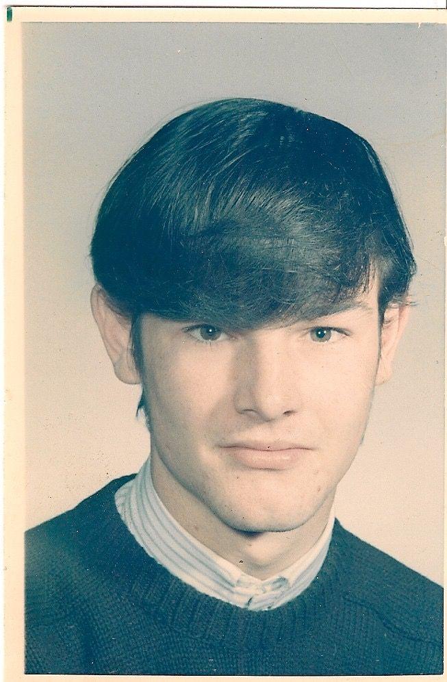 ...Burton Cummings...high school age...