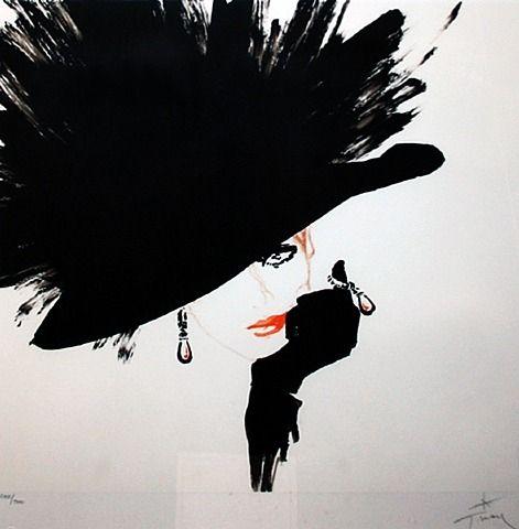 Black Hat by René Gruau from Gallart.com