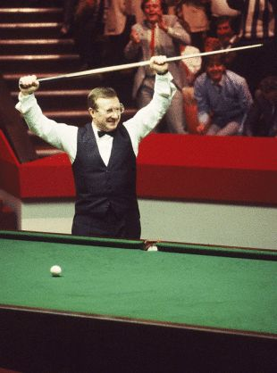 World Snooker Final, 1985. Dennis Taylor beats Steve Davis on the final black of the final frame, one of the most watched live TV events ever in the UK.