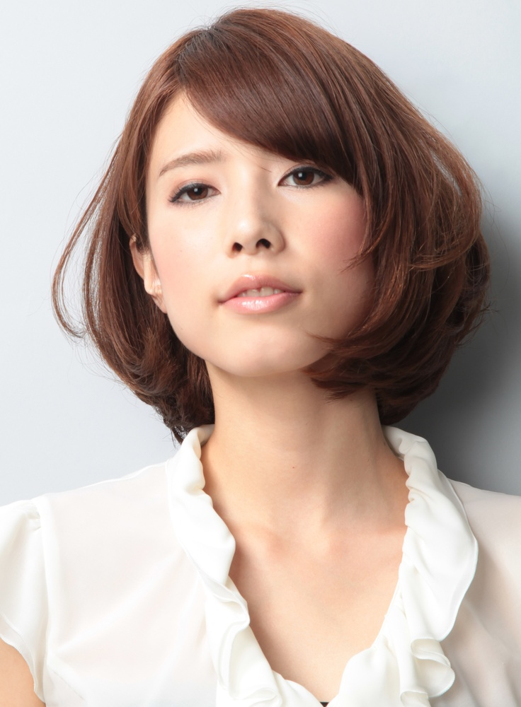 #bob #medium #japanese #haircut #cute #bangs