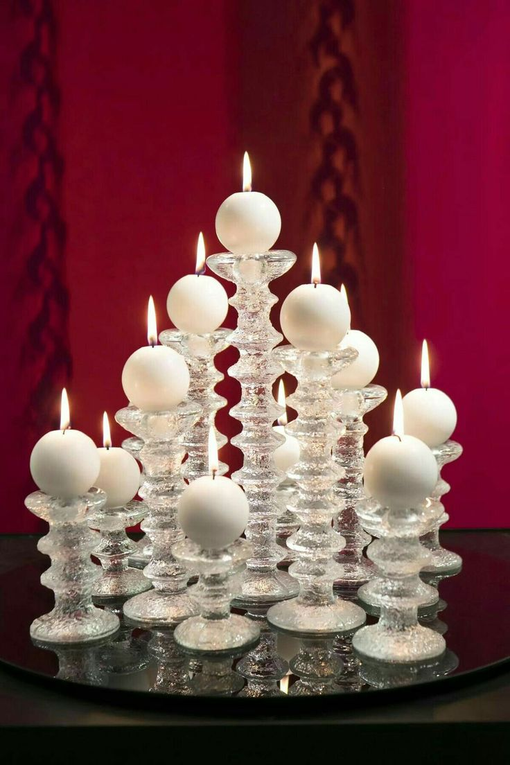 Iittala Festivo candle holders by Timo Sarpaneva