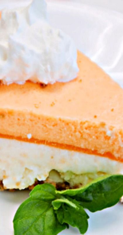 Award-Winning Orange Creamsicle Cheesecake