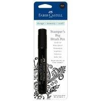 Stamper's Big Brush Pen Black - Faber Castell