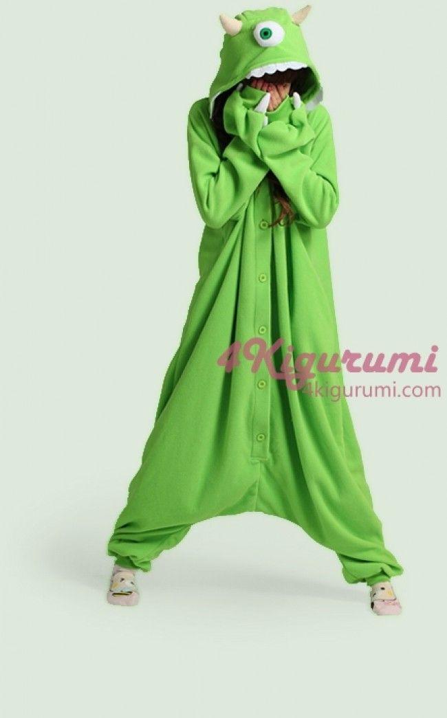 One-Eyed Monster Onesie Kigurumi Pajamas