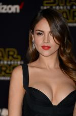 """Eiza Gonzalez attends the world premiere of """"Star Wars: The Force Awakens"""" at the TCL Chinese Theatre http://celebs-life.com/eiza-gonzalez-attends-world-premiere-star-wars-force-awakens-tcl-chinese-theatre/  #eizagonzalez"""