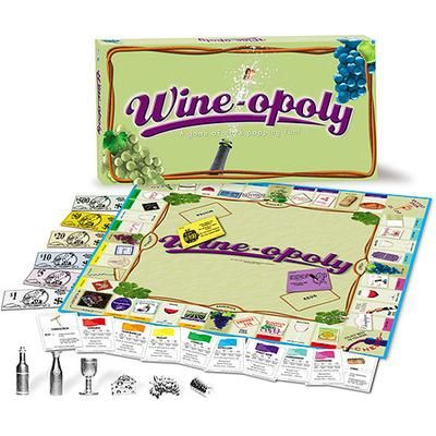 Wine-Opoly Board Game - want for a girls night! @Cassandra Guild Clark @Cori @Brittany Horton McCormack