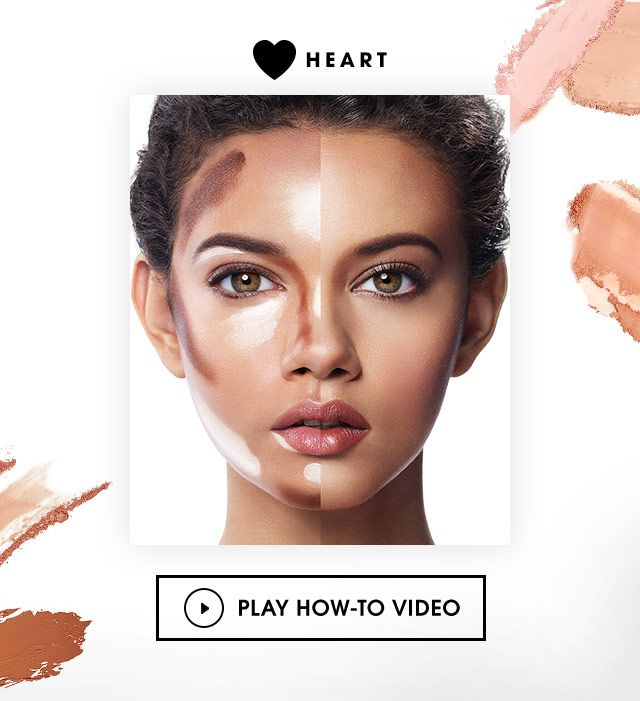 Best Contouring Makeup for Heart-Shaped Face | Sephora