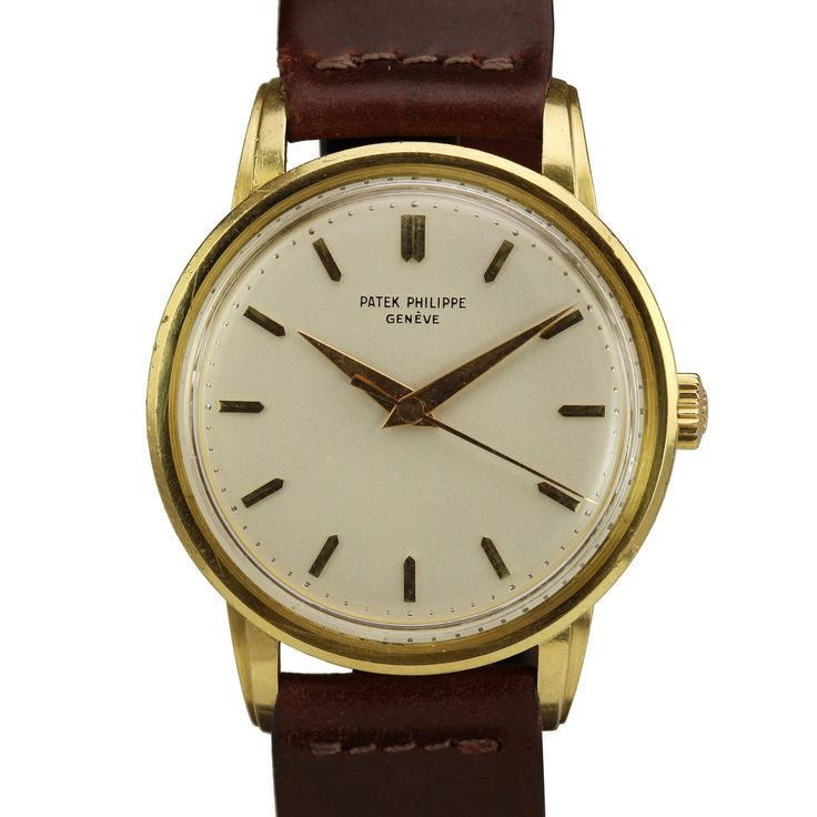 Patek Philippe Yellow Gold Wristwatch Ref 2481 | From a unique collection of vintage wrist watches at https://www.1stdibs.com/jewelry/watches/wrist-watches/