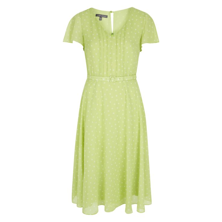 Laura Ashley Tiny Floral Fit and Flare Dress #Herbarium