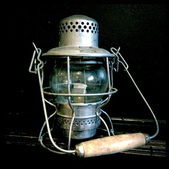 Antique CPR lantern. Hiram L. Piper Co. Ltd. Great vintage / antique style for any decor.  *Please inquire for bundle/ combined shipping when ordering more than one item. **International economical shipping option available without tracking 4-6 weeks.
