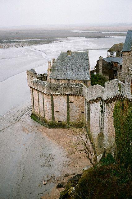 Mont-Saint-Michel, Normandy by Peter Gutierrez