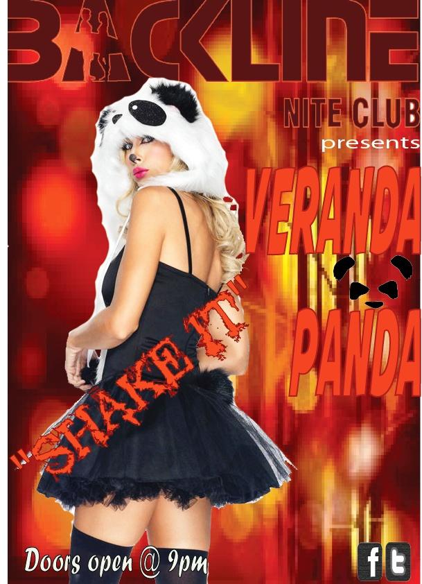 Veranda Panda LIVE @ Backline Friday 1 March 2013