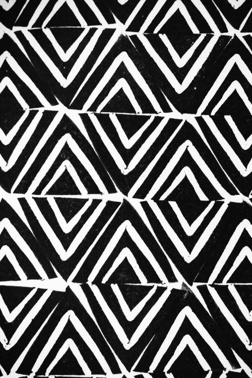 Black & White Aztec Print | iPhone - 94.8KB