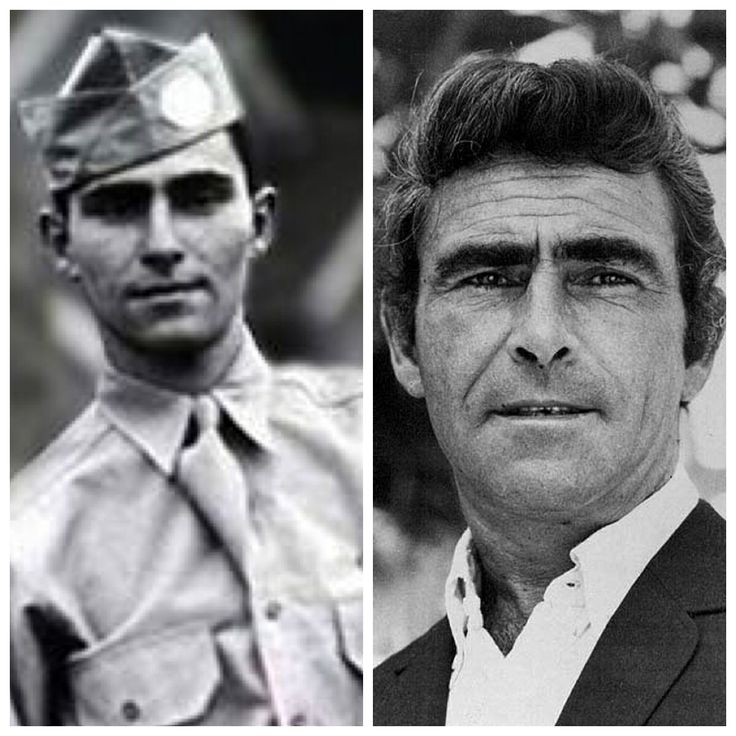 Rod Serling-Army-WW2-11Airborne Division fought in New Guinea & Philippines (Screenwriter/Producer/Twilight Zone)