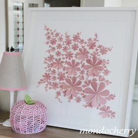 We always get very excited when we are commissioned to make one of our 3d blossom artworks in a new colour. This pretty dusky pink was a sp...