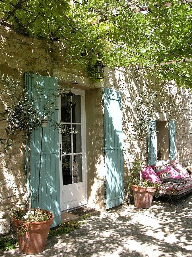 1000 images about french blue shutters provence on for Interieur french