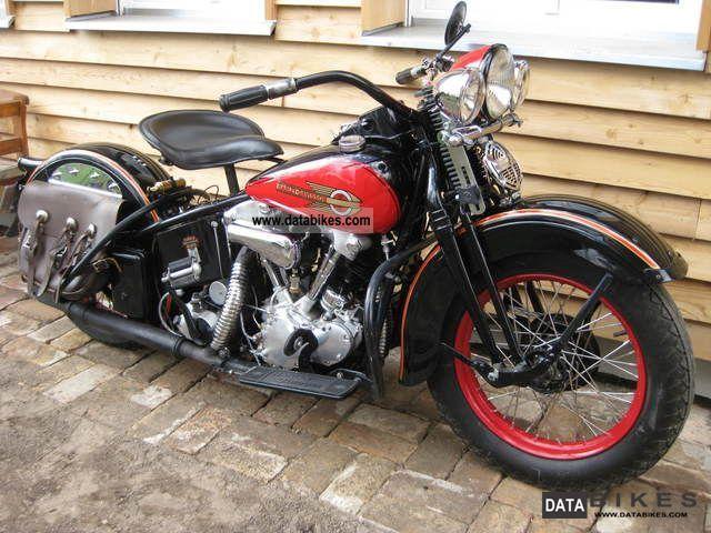 http://vintage Harley Davidson photo | and photos 1937 harley davidson knucklehead el vintage 1937 motorcycle