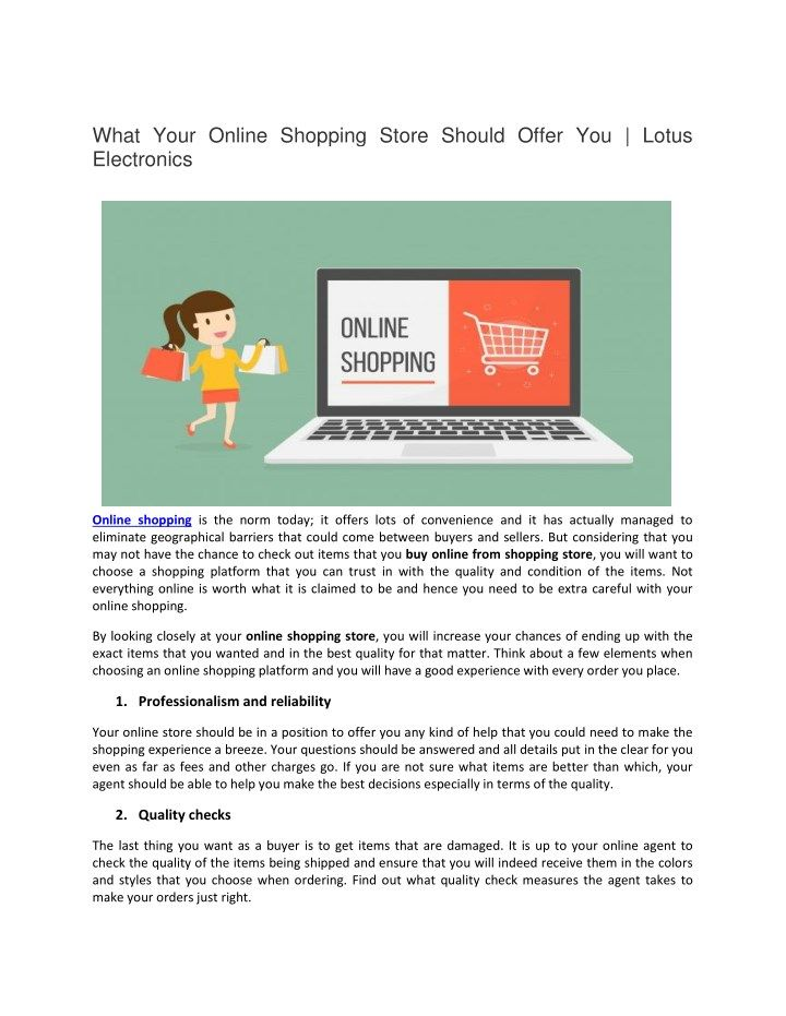 Online shopping is the norm today; it offers lots of convenience and it has actually managed to eliminate geographical barriers that could come between buyers and sellers. Buy Online Latest Electronics Products at best price  from Lotus Electronics because it's providing to their customers best deals & Offers.  #indian #india #education #shopping