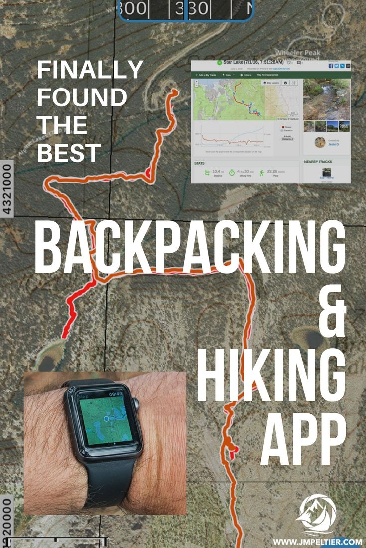 Have you been searching for the best backpacking & hiking app like I have?  I've finally found one that I can stick with.  You need to give this a try.