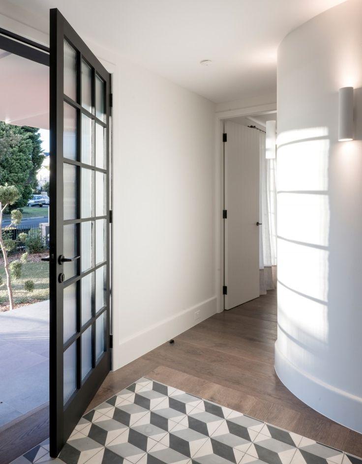 Balancing Home by Luigi Rosselli Architects | encaustic Escher pattern tiles | © Edward Birch #LuigiRosselliArchitects #LuigiRosselli #Architecture