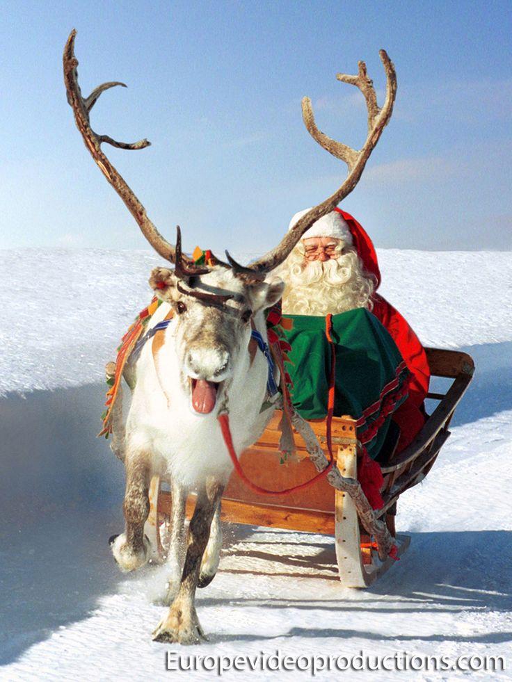 Laponia – el hogar de Papá Noel / Santa Claus en Finlandia