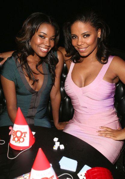 Gabrielle Union and Sanaa Latham.. My Favorite Black Girls..lol