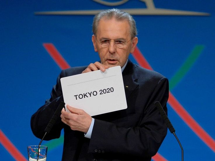 Wonder how far will be in 7 years -.Tokyo wins olympic host city