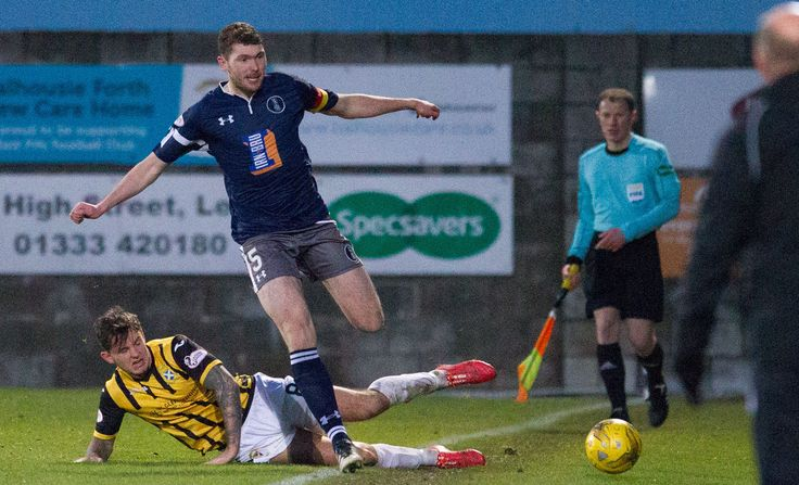 Queen's Park's Ryan McGeever in action during the Ladbrokes League One game between East Fife and Queen's Park.
