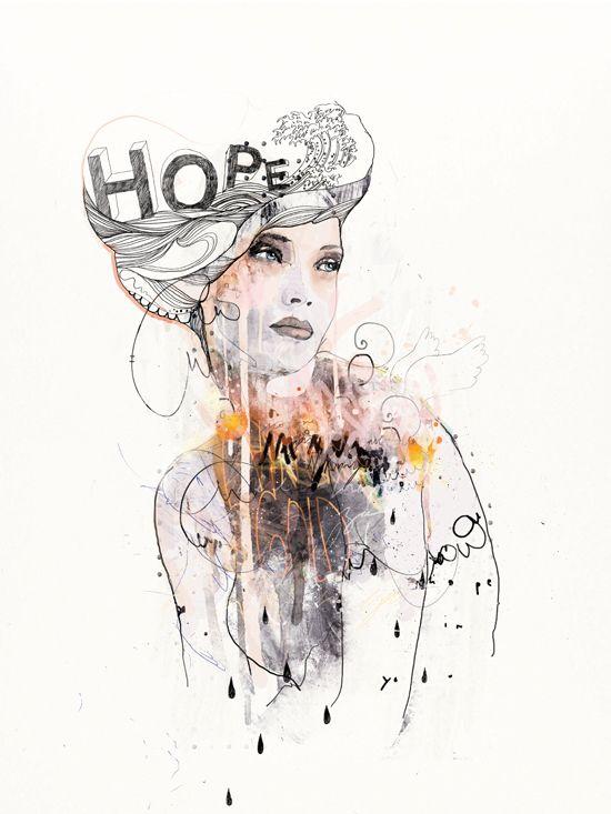 hope: Illustrations Art, Art Illustrations, Inspiration, Fashion Models, Dead Ponies, Raphael Vicenzi, Drawing, Fashion Illustrations, Hope