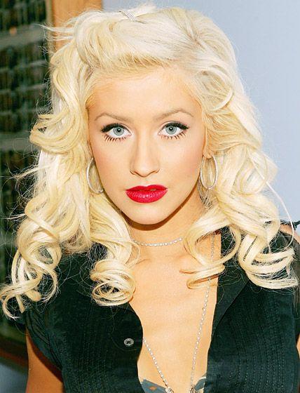 Christina Aguilera's Hair Evolution: June 21, 2006