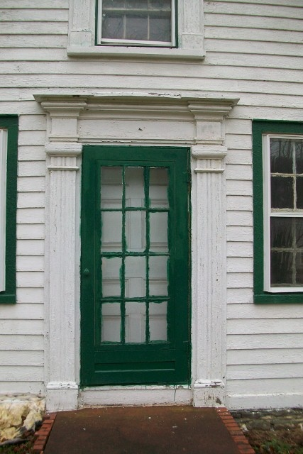 1820 39 s greek revival newyorksalvage front door for the for Exterior pediments