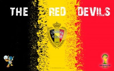 The Red Devils 2014 Belgium Football Crest Logo World Cup Wallpaper : Footbal Player Photos