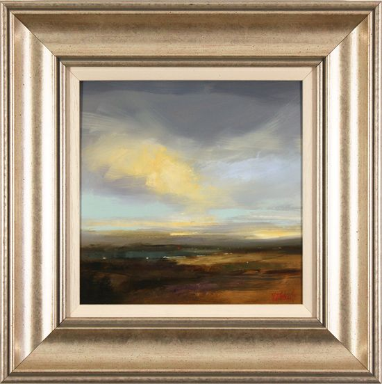 Michael John Ashcroft, MAFA, Original oil painting on panel, Skyline, Yorkshire