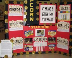 popcorn science fair projects | crestsciencefair / Which is the best brand of popcorn pops the most