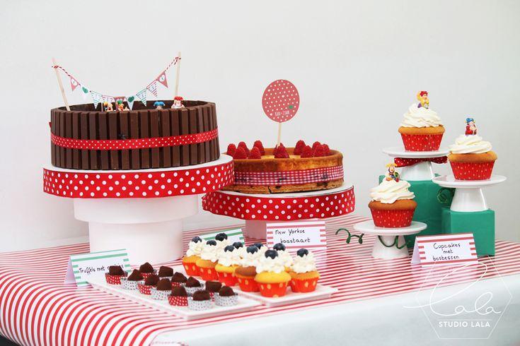 verjaardagsfeestje, verjaardag, sweet table, desserttafel, DIY, studio Lala